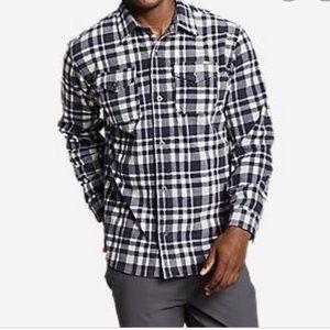 Eddie Bauer Men's Chutes Fleece Shirt Size XL